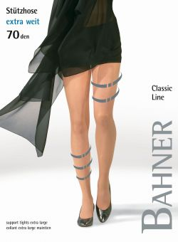Bahner Classic Line 70 Extra Wide Support Tight 1 Pair