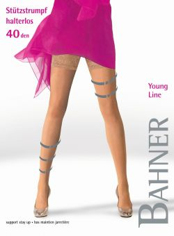 Bahner Young Line 40 Support Stay Ups 1 Pair