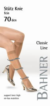 Bahner Classic Line 70 Fine Support Knee High 1 Pair