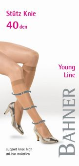 Bahner Young Line 40 Support Knee High 1 Pair