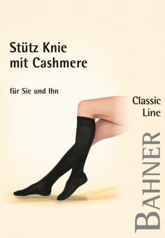 Bahner Classic Line Cashmere Support Knee High 1 Pair
