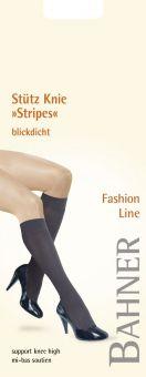 Bahner Fashion Line Stripes Stützkniestrumpf 1 Paar