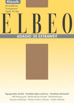 Elbeo Adagio 30 Extraweit Strumpfhose 3er Pack