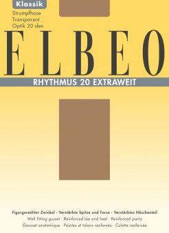 Elbeo Rhythmus 20 Extraweit Strumpfhose 3er Pack