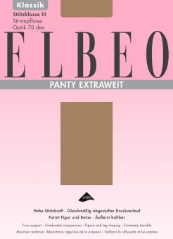 Elbeo Panty Extraweit Tights 1 Pair