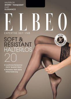 Elbeo Soft & Resistant 20 Halterloser Strumpf 3er Pack
