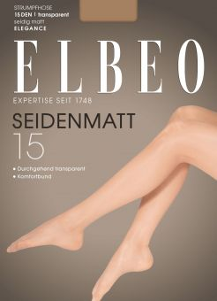 Elbeo Seidenmatt 15 Tights 3-Pack
