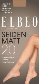 Elbeo Seidenmatt 20 Söckchen 3er Pack
