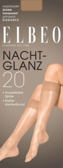 Elbeo Nachtglanz 20 Kniestrumpf 3er Pack