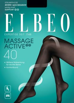Elbeo Massage Active 40 Strumpfhose 3er Pack