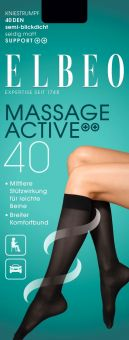 Elbeo Massage Active 40 Kniestrumpf 3er Pack