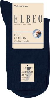 Elbeo Pure Cotton Sensitive Sock 3-Pack