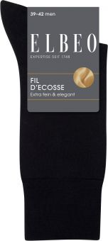 Elbeo Fil d Ecosse Socke 3er Pack