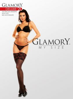 Glamory Deluxe 20 Stay Ups 3-Pack