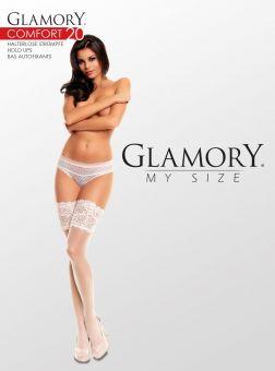 Glamory Comfort 20 Halterloser Strumpf 3er Pack
