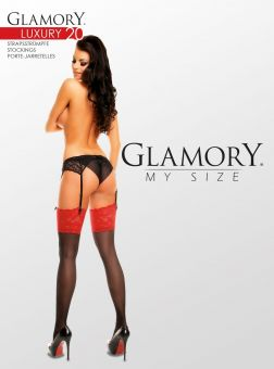 Glamory Luxury 20 Strumpf 3er Pack