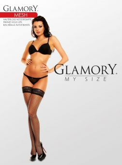 Glamory Mesh Stay Ups 3-Pack
