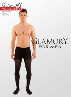 Glamory Microman 100 Herrenstrumpfhose 3er Pack