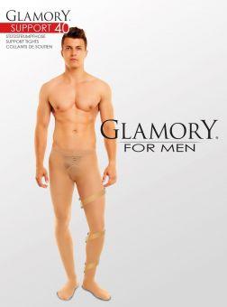 Glamory Support 40 Herren Stützstrumpfhose 3er Pack