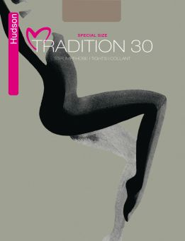 Hudson Tradition 30 Special Size Tights 3-Pack