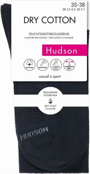 Hudson Dry Cotton Socke 3er Pack