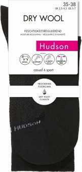 Hudson Dry Wool Sock 3-Pack