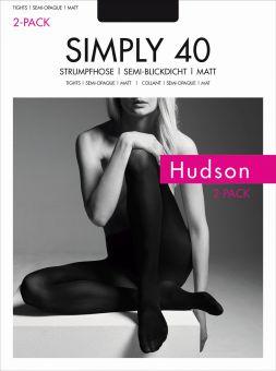 Hudson Simply 40 Strumpfhose 6er Pack