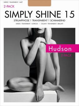 Hudson Simply Shine 15 Strumpfhose 6er Pack