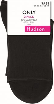 Hudson Only Short Sock 6-Pack
