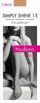 Hudson Simply Shine 15 Kniestrumpf 9er Pack