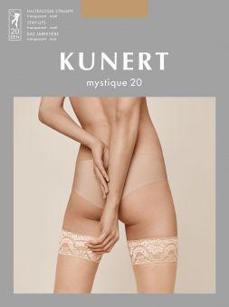 Kunert Mystique 20 Halterloser Strumpf 3er Pack