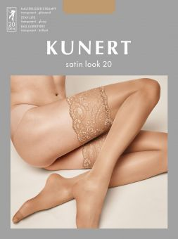 Kunert Satin Look 20 Stay Ups 3-Pack