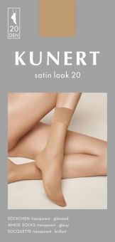 Kunert Satin Look 20 Söckchen 3er Pack