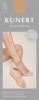 Kunert Velvet Ballerina Füßling 3er Pack