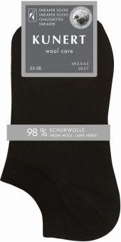 Kunert Wool Care Sneaker Socke 3er Pack