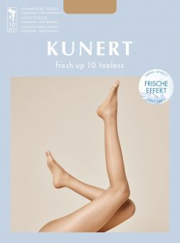 Kunert Fresh Up 10 Toeless Tights 3-Pack