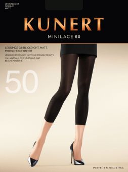 Kunert Minilace 50 Capri Leggings 3er Pack