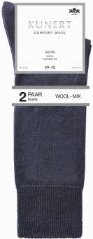 Kunert Comfort Wool Sneaker Sock 6-Pack