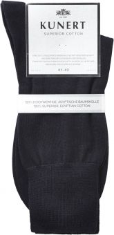 Kunert Superior Cotton Socke 3er Pack